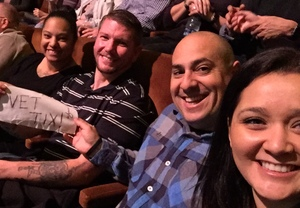 Joel attended Le Reve the Dream at the Wynn Theatre for Tonight on Jan 9th 2018 via VetTix