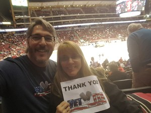 Michael attended Arizona Coyotes vs. Dallas Stars - NHL on Feb 1st 2018 via VetTix