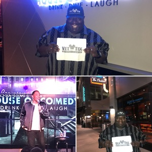 Click To Read More Feedback from Ruben Paul at House of Comedy - Saturday Late Show