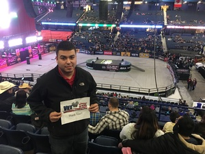 Oliver attended PBR - 25th Anniversary - Unleash the Beast - Tickets Good for Sunday Only. on Jan 14th 2018 via VetTix