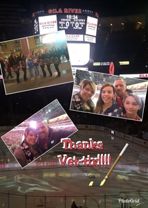 Ryan attended Arizona Coyotes vs. San Jose Sharks - NHL on Jan 16th 2018 via VetTix
