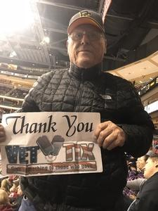 David attended Arizona Coyotes vs. San Jose Sharks - NHL on Jan 16th 2018 via VetTix