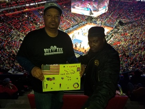 Demetrius attended Detroit Pistons vs. Memphis Grizzlies - NBA on Feb 1st 2018 via VetTix