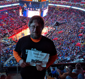 Hubert attended Detroit Pistons vs. Memphis Grizzlies - NBA on Feb 1st 2018 via VetTix