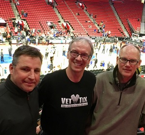 Mark attended Detroit Pistons vs. Miami Heat - NBA on Feb 3rd 2018 via VetTix