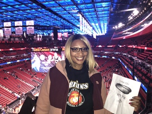 LaTonya attended Detroit Pistons vs. Miami Heat - NBA on Feb 3rd 2018 via VetTix