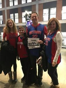 Click To Read More Feedback from Detroit Pistons vs. Portland Trail Blazers - NBA