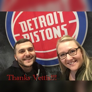 Ringman Family attended Detroit Pistons vs. Chicago Bulls - NBA on Mar 9th 2018 via VetTix