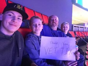 Kelly attended Detroit Pistons vs. Chicago Bulls - NBA on Mar 9th 2018 via VetTix