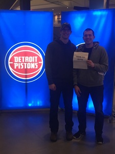 Latonya attended Detroit Pistons vs. Chicago Bulls - NBA on Mar 9th 2018 via VetTix