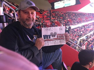 Stanley attended Detroit Pistons vs. LA Lakers - NBA on Mar 26th 2018 via VetTix