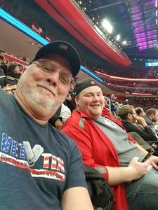 Richard attended Detroit Pistons vs. Dallas Mavericks - NBA on Apr 6th 2018 via VetTix