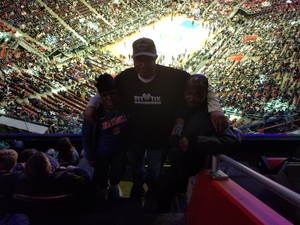 Demetrius attended Detroit Pistons vs. Dallas Mavericks - NBA on Apr 6th 2018 via VetTix