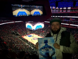 Ryan attended Detroit Pistons vs. Dallas Mavericks - NBA on Apr 6th 2018 via VetTix