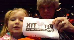 Robert attended Shopkins Live! on Jan 16th 2018 via VetTix