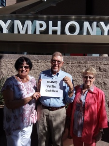Ralph attended Phoenix Symphony Hall Presents: Candide by Leonard Bernstein on Feb 3rd 2018 via VetTix