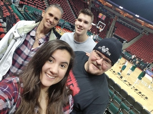 Click To Read More Feedback from Seattle University Redhawks vs. Utah Valley - Mens Basketball