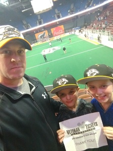 Click To Read More Feedback from New England Black Wolves vs. Buffalo Bandits - National Lacrosse League