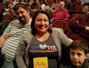 Click To Read More Feedback from Aida - World Premiere - Performed by Virginia National Ballet - Matinee