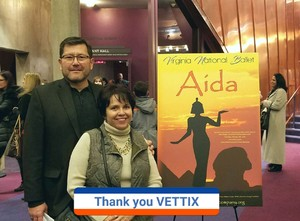Click To Read More Feedback from Aida - World Premiere - Performed by Virginia National Ballet - Evening