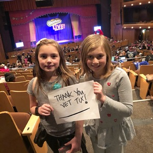 Jenny attended Shopkins Live! on Jan 27th 2018 via VetTix