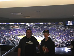Click To Read More Feedback from Phoenix Suns vs. Dallas Mavericks - NBA - Suite