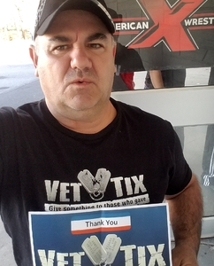 David attended American X Wrestling Presents: March Mayhem 2 on Mar 31st 2018 via VetTix
