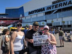 Joseph attended Daytona 500 - the Great American Race - Monster Energy NASCAR Cup Series on Feb 18th 2018 via VetTix