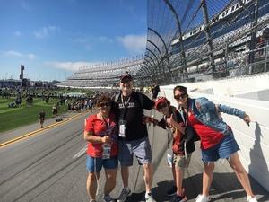 Scott attended Daytona 500 - the Great American Race - Monster Energy NASCAR Cup Series on Feb 18th 2018 via VetTix