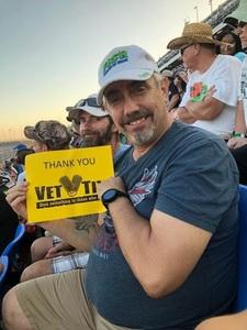 Tom attended Daytona 500 - the Great American Race - Monster Energy NASCAR Cup Series on Feb 18th 2018 via VetTix