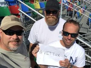 Curt attended Daytona 500 - the Great American Race - Monster Energy NASCAR Cup Series on Feb 18th 2018 via VetTix