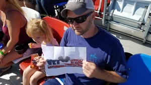 Kevin attended Daytona 500 - the Great American Race - Monster Energy NASCAR Cup Series on Feb 18th 2018 via VetTix