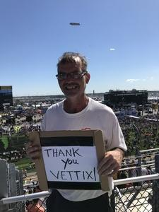 Brian attended Daytona 500 - the Great American Race - Monster Energy NASCAR Cup Series on Feb 18th 2018 via VetTix