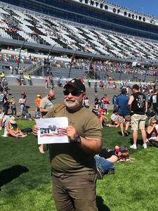 Guy attended Daytona 500 - the Great American Race - Monster Energy NASCAR Cup Series on Feb 18th 2018 via VetTix