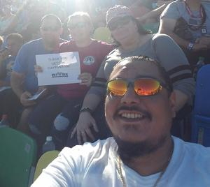 Daniel attended Daytona 500 - the Great American Race - Monster Energy NASCAR Cup Series on Feb 18th 2018 via VetTix