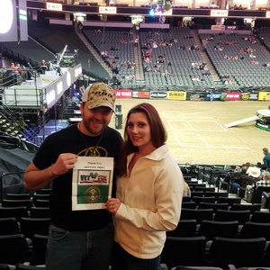 Joshua attended PBR - 25th Anniversary - Unleash the Beast - Tickets Good for Friday Only on Jan 26th 2018 via VetTix