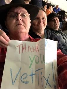 Patricia attended PBR - 25th Anniversary - Unleash the Beast - Tickets Good for Sunday Only. on Jan 28th 2018 via VetTix