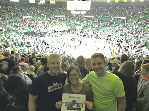 Brian attended Baylor Bears vs. Texas Tech - NCAA Men's Basketball on Feb 17th 2018 via VetTix