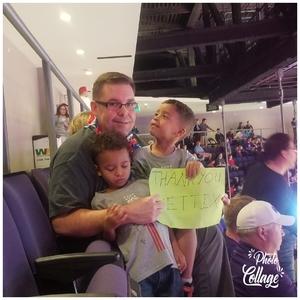 Jason attended Grand Canyon University vs. Chicago State - NCAA Men's Basketball - God Bless America Night on Feb 3rd 2018 via VetTix