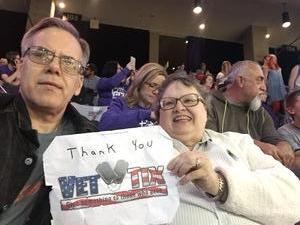 Richard attended Grand Canyon University vs. Chicago State - NCAA Men's Basketball - God Bless America Night on Feb 3rd 2018 via VetTix