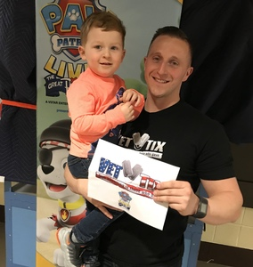 Daniel attended Paw Patrol Live! The Great Pirate Adventure - Presented by Vstar Entertainment on Feb 2nd 2018 via VetTix