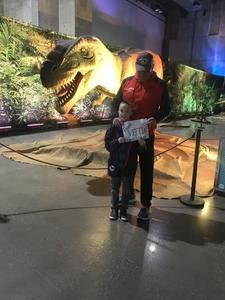 David attended Discover the Dinosaurs - Time Trek - Presented by Vstar Entertainment on Feb 4th 2018 via VetTix