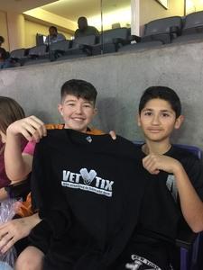 Channon attended Phoenix Suns vs. Charlotte Hornets - NBA on Feb 4th 2018 via VetTix