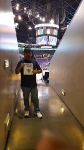 Jesus attended Phoenix Suns vs. Charlotte Hornets - NBA on Feb 4th 2018 via VetTix