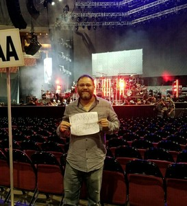 Ramon attended Brad Paisley - Weekend Warrior World Tour With Dustin Lynch, Chase Bryant and Lindsay Ell on Jan 27th 2018 via VetTix