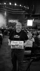 jerry attended Brad Paisley - Weekend Warrior World Tour With Dustin Lynch, Chase Bryant and Lindsay Ell on Jan 27th 2018 via VetTix