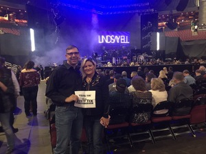 Gregory attended Brad Paisley - Weekend Warrior World Tour With Dustin Lynch, Chase Bryant and Lindsay Ell on Jan 27th 2018 via VetTix
