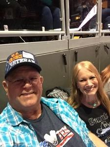 Frank (Jim) Oliver attended Brad Paisley - Weekend Warrior World Tour With Dustin Lynch, Chase Bryant and Lindsay Ell on Jan 27th 2018 via VetTix