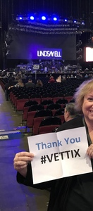 Sandi attended Brad Paisley - Weekend Warrior World Tour With Dustin Lynch, Chase Bryant and Lindsay Ell on Jan 27th 2018 via VetTix