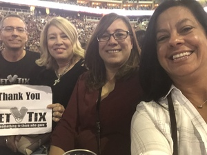 Bruce attended Brad Paisley - Weekend Warrior World Tour With Dustin Lynch, Chase Bryant and Lindsay Ell on Jan 27th 2018 via VetTix